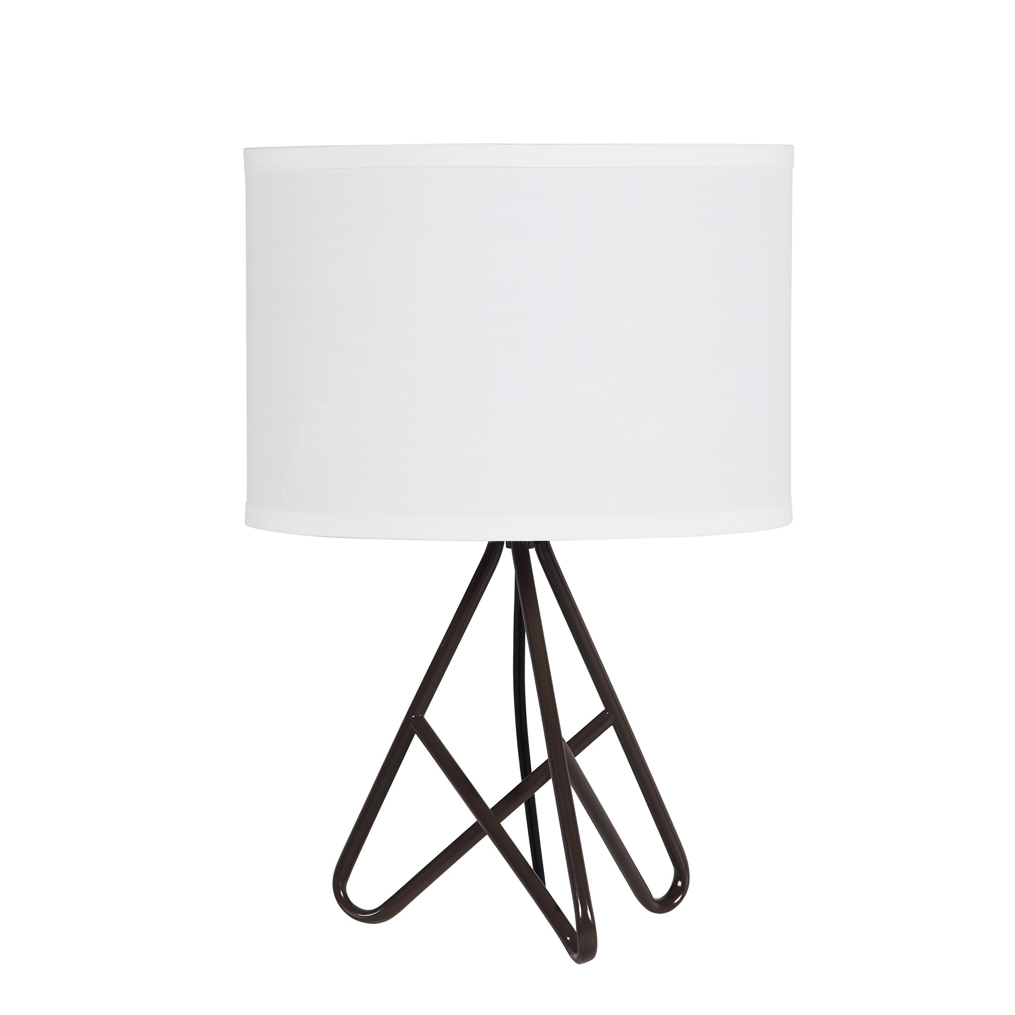 Shop 17 5 In Watson Mid Century Metal Tripod Table Lamp Free