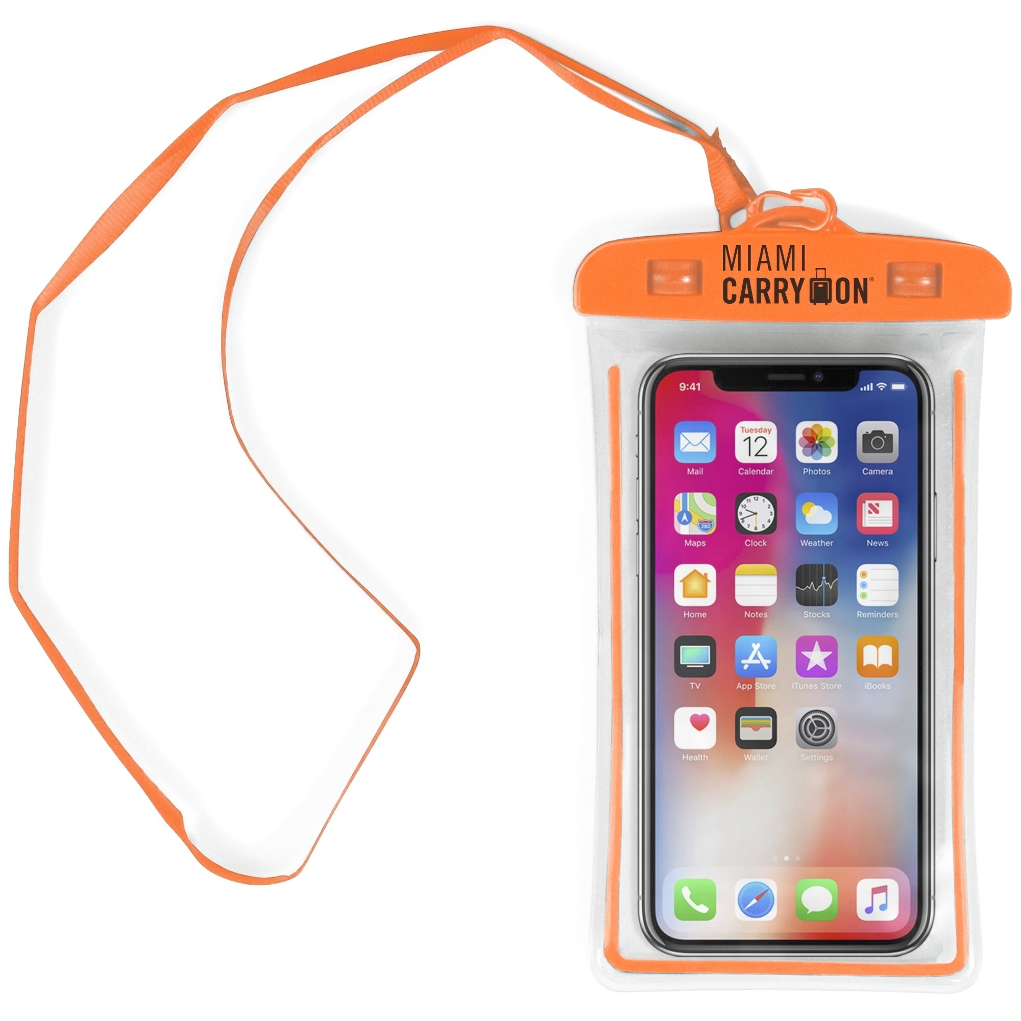 Shop Miami CarryOn IPX8 Universal Waterproof Case, Cellphone Dry Bag, Strap - Free Shipping On Orders Over $45 - Overstock - 25459276