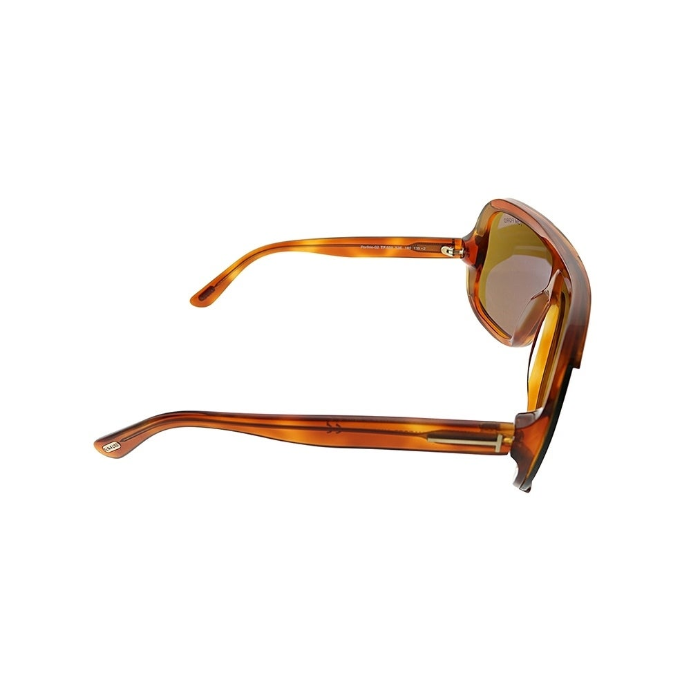 11a5852550 Shop Tom Ford Shield TF 559 Porfirio 53E Unisex Blonde Havana Frame Brown  Lens Sunglasses - Free Shipping Today - Overstock - 25567549