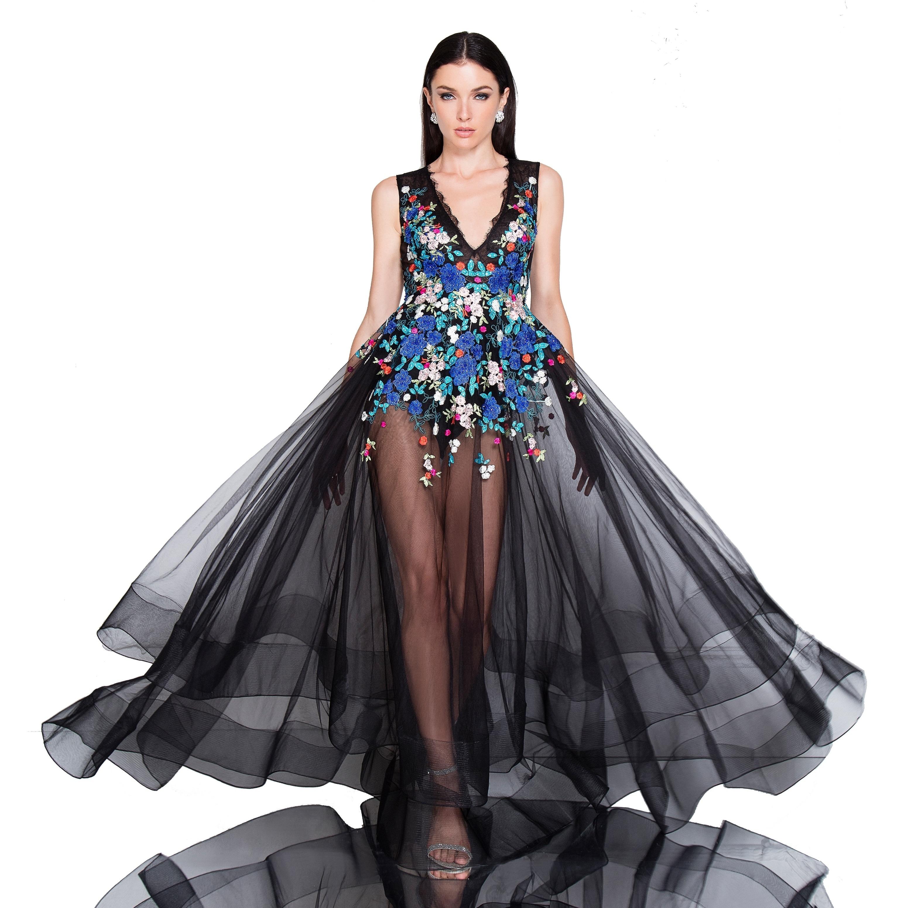 Sleeveless V-Neck Dress