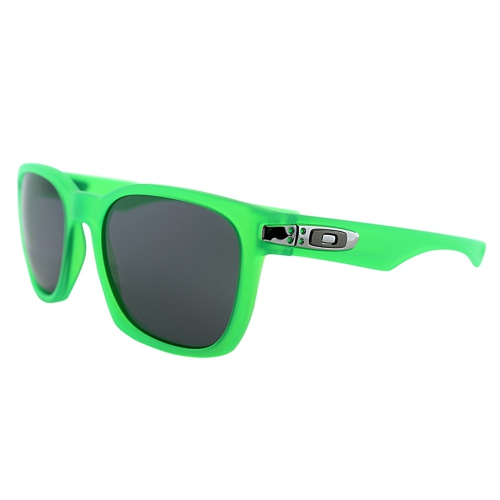 Frame Polarized Lens Unisex Square Sunglasses 9175 Oakley Grey Green 18 Matte Oo Garage Rock P0wvmNOyn8