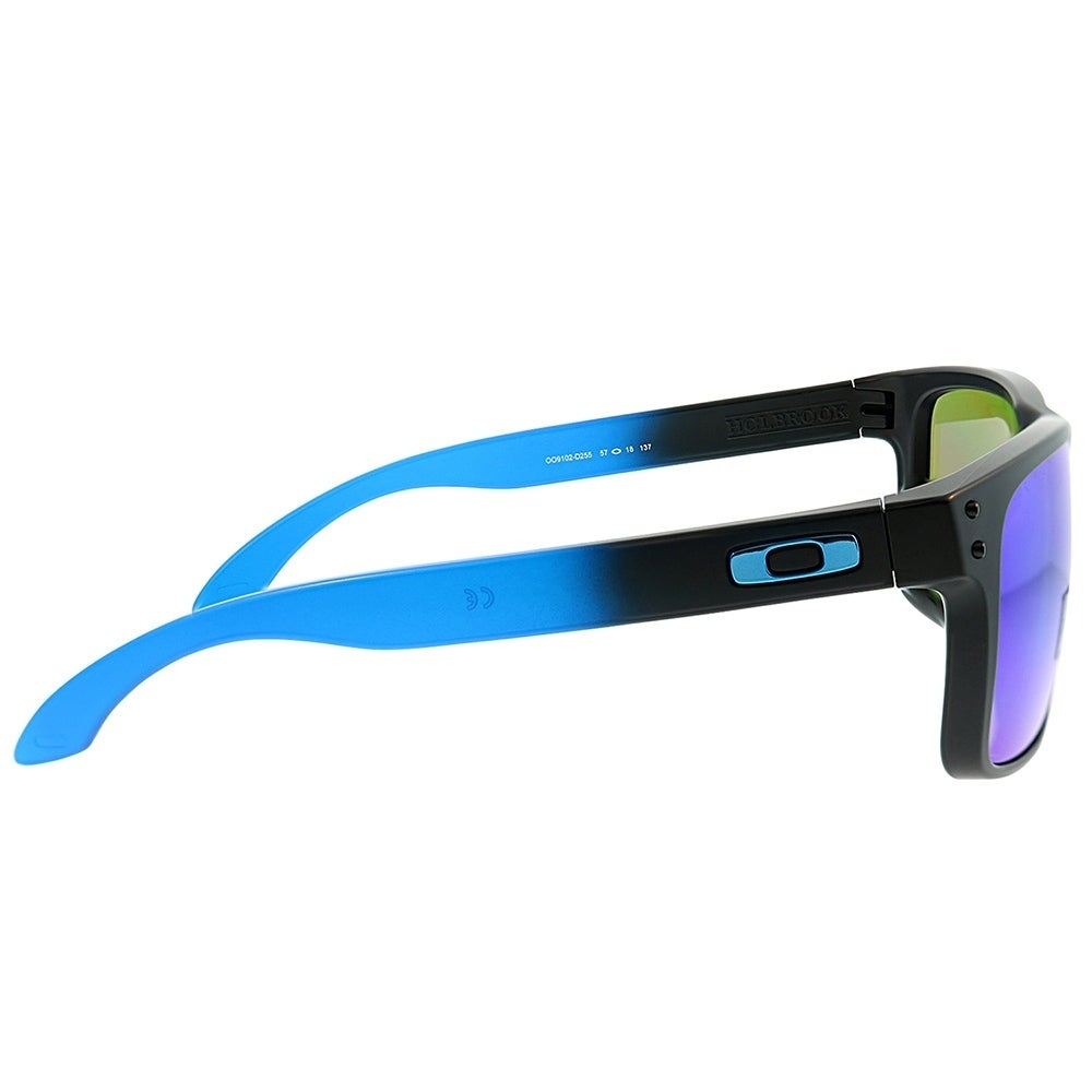 261d31c902 Shop Oakley Square OO 9102 Holbrook D2 Unisex Sapphire Fade Frame Prizm  Polarized Lens Sunglasses - Free Shipping Today - Overstock - 25580014