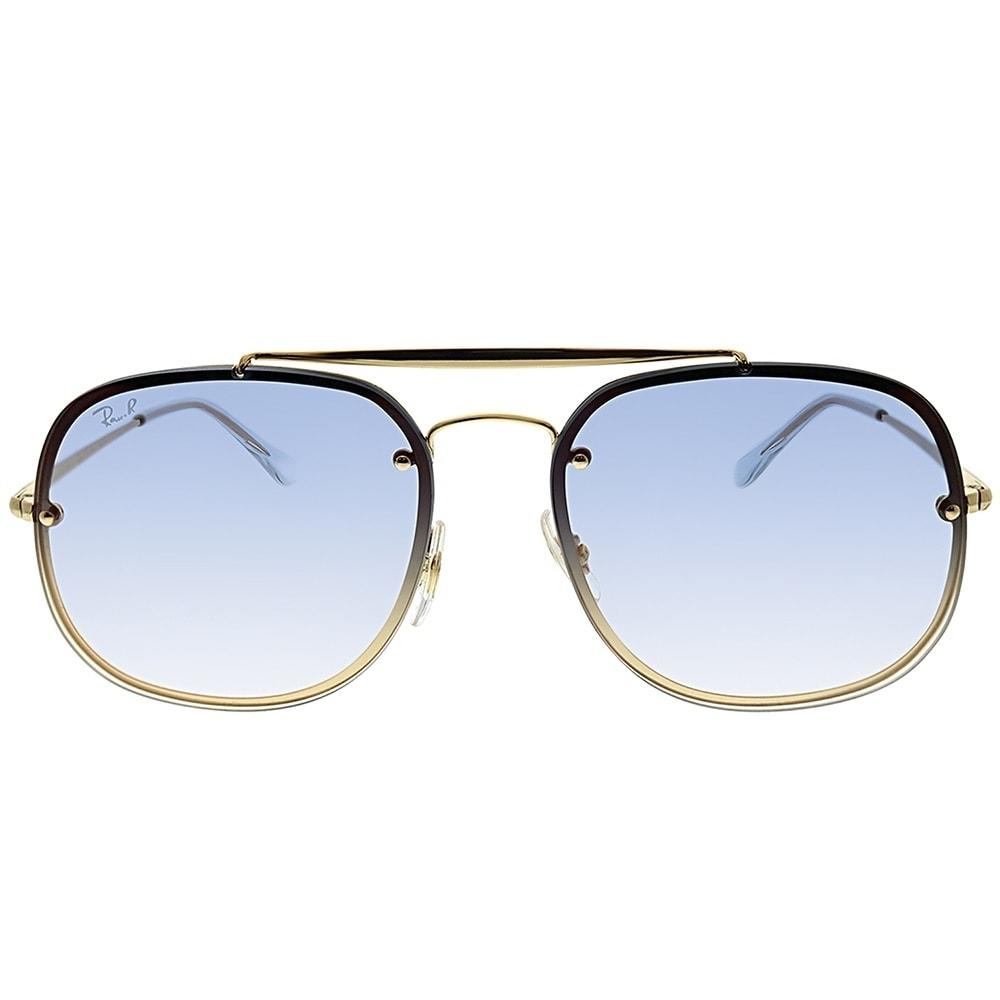 3eddf459db0 Shop Ray-Ban Aviator RB 3583N Blaze General 001 X0 Unisex Gold Frame Blue  Gradient Mirror Lens Sunglasses - Free Shipping Today - Overstock - 25580034