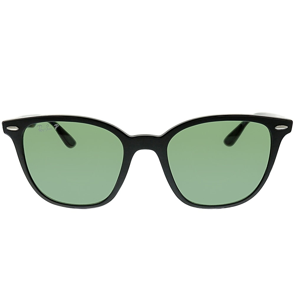 c937faa383 Shop Ray-Ban Square RB 4297 601S9A Unisex Matte Black Frame Green Polarized  Lens Sunglasses - On Sale - Free Shipping Today - Overstock - 25580059