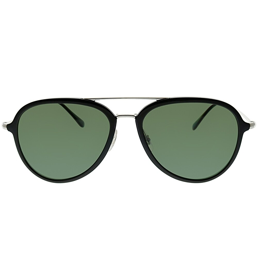 f45bf763da Shop Ray-Ban Aviator RB 4298 601 9A Unisex Black Frame Green Polarized Lens  Sunglasses - Free Shipping Today - Overstock - 25580065