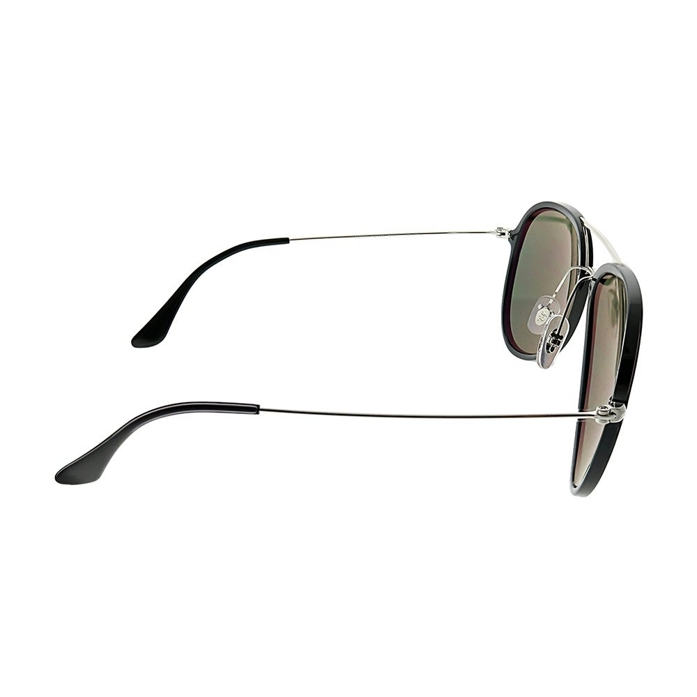 c99741da775f1 Shop Ray-Ban Aviator RB 4298 601 9A Unisex Black Frame Green Polarized Lens  Sunglasses - Free Shipping Today - Overstock - 25580065
