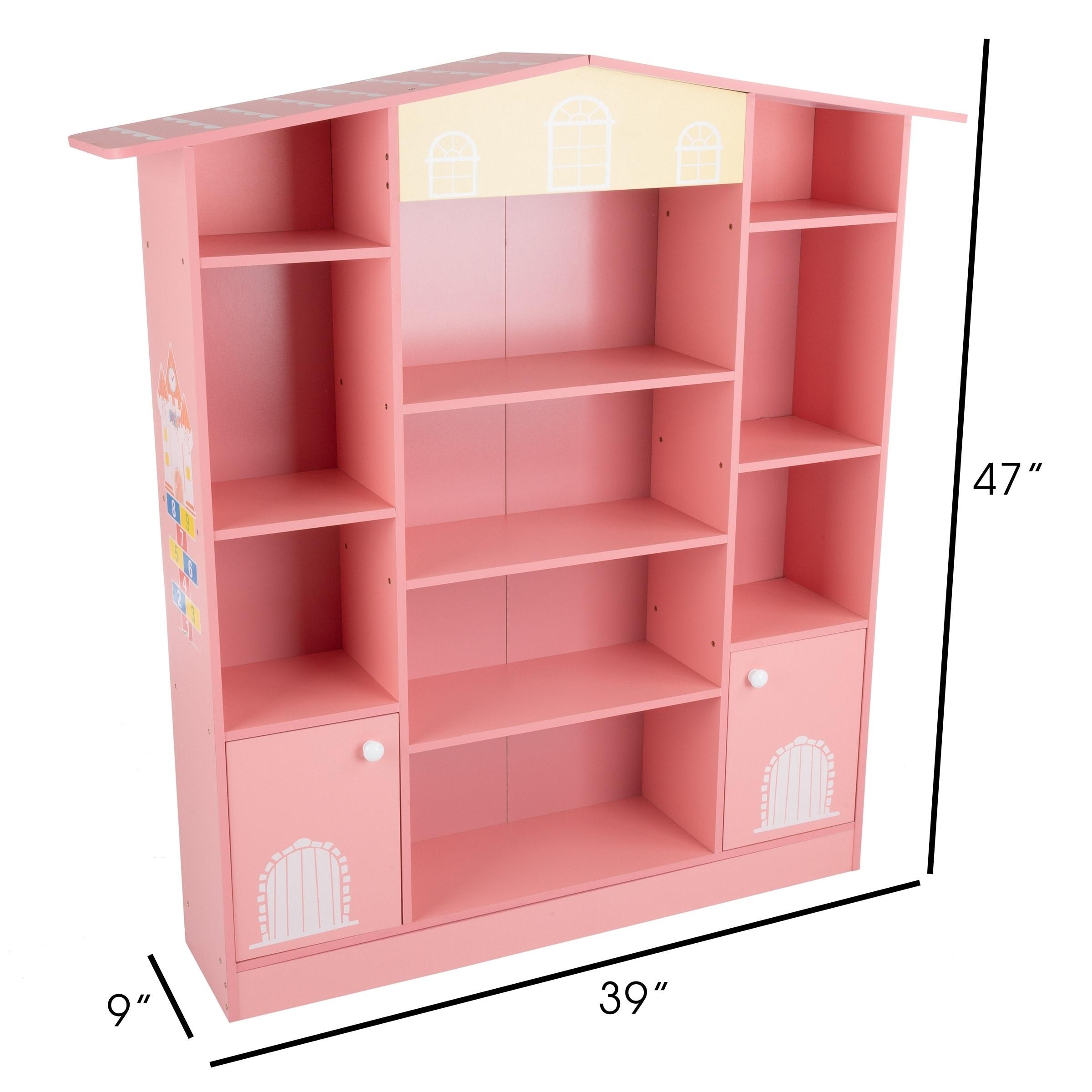 Shop Dollhouse Shaped Bookcase Cottage Design Furniture For Books