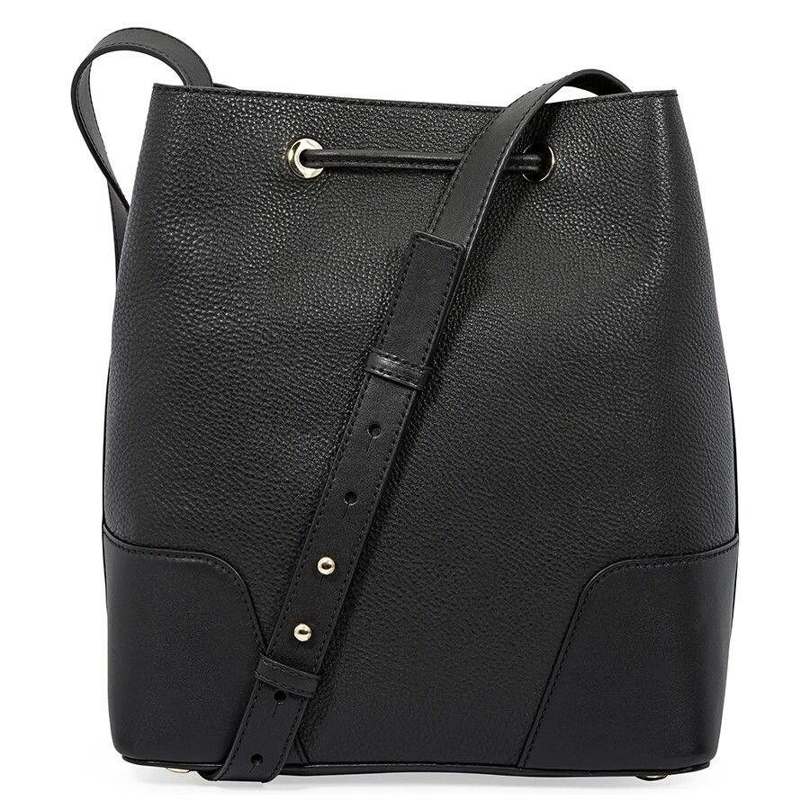 56c30c4f5d8628 Shop MICHAEL Michael Kors Cary Medium Leather Bucket Bag - On Sale ...