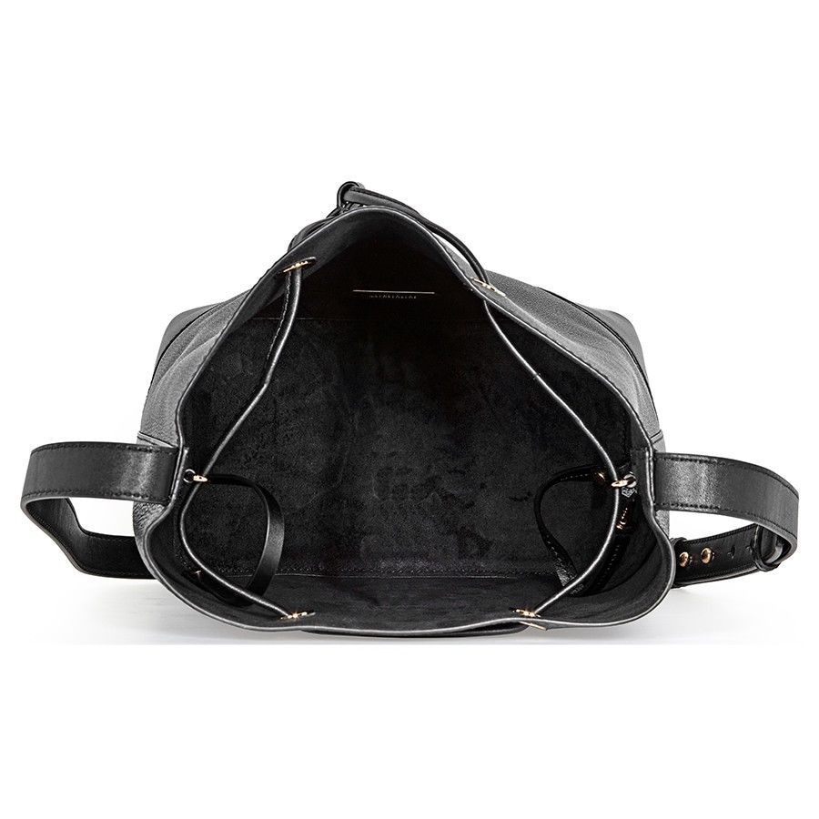 1fdefad7f79e Shop MICHAEL Michael Kors Cary Medium Leather Bucket Bag - On Sale - Free  Shipping Today - Overstock - 25601247