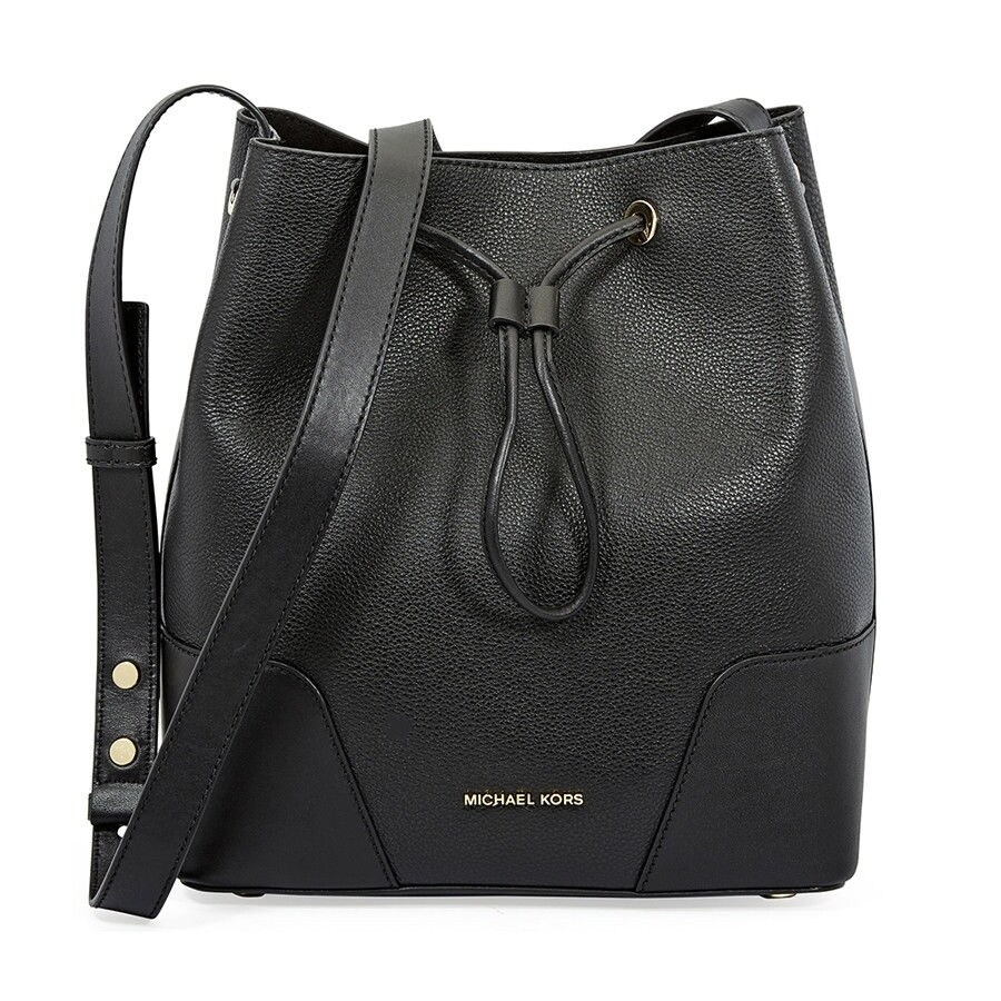 8d65b0b05e9e Shop MICHAEL Michael Kors Cary Medium Leather Bucket Bag - On Sale - Free  Shipping Today - Overstock - 25601247