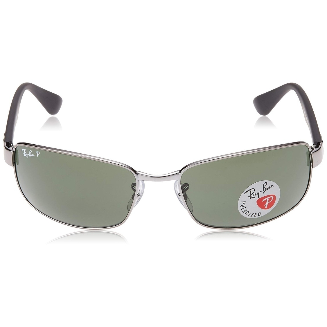 33a662ba0f Shop Ray-Ban RB3478 Gunmetal Black Frame Polarized Green 60mm Lens  Sunglasses - Free Shipping Today - Overstock - 25602952