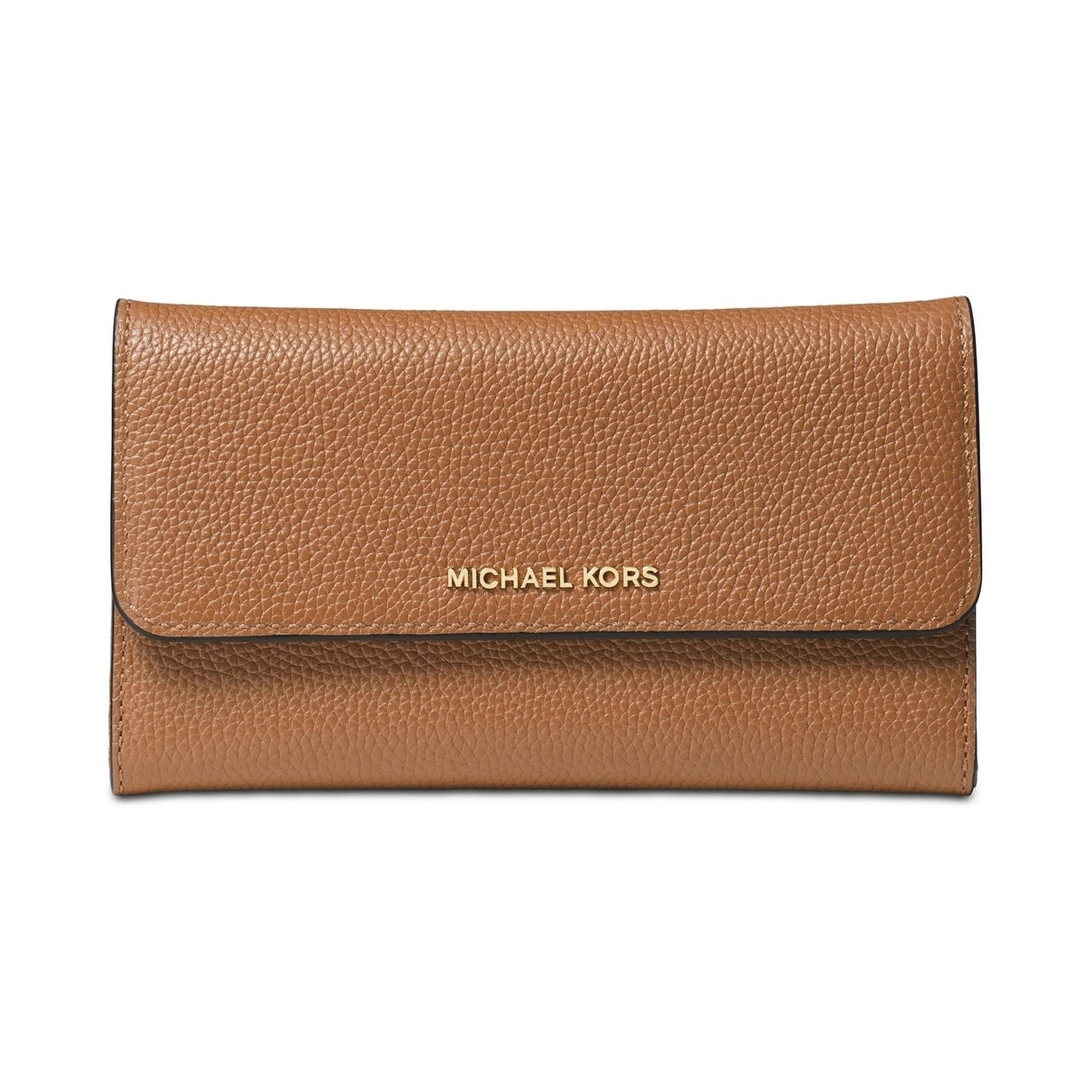 0dcf6f355d0a Shop MICHAEL Michael Kors Pebble Leather Trifold Wallet - On Sale - Free  Shipping Today - Overstock - 25607457