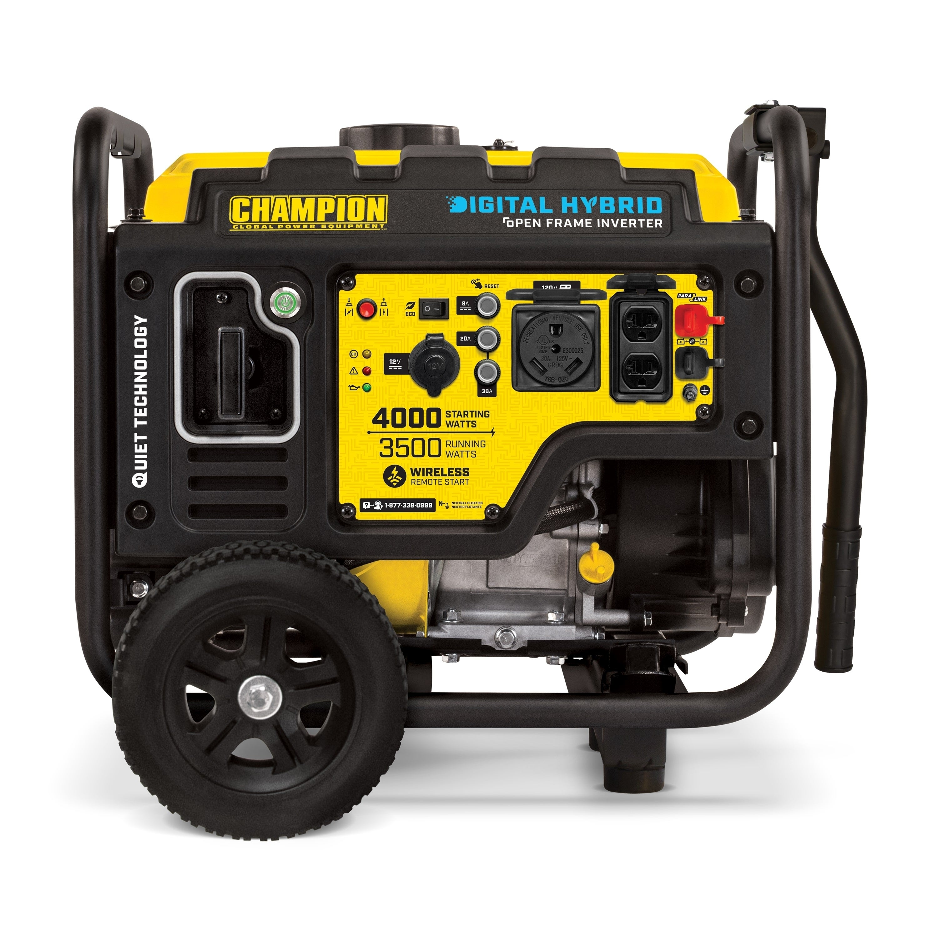 Champion 4000 Watt Dh Series Open Frame Inverter Generator With Wireless Remote Free Shipping Today 25613084