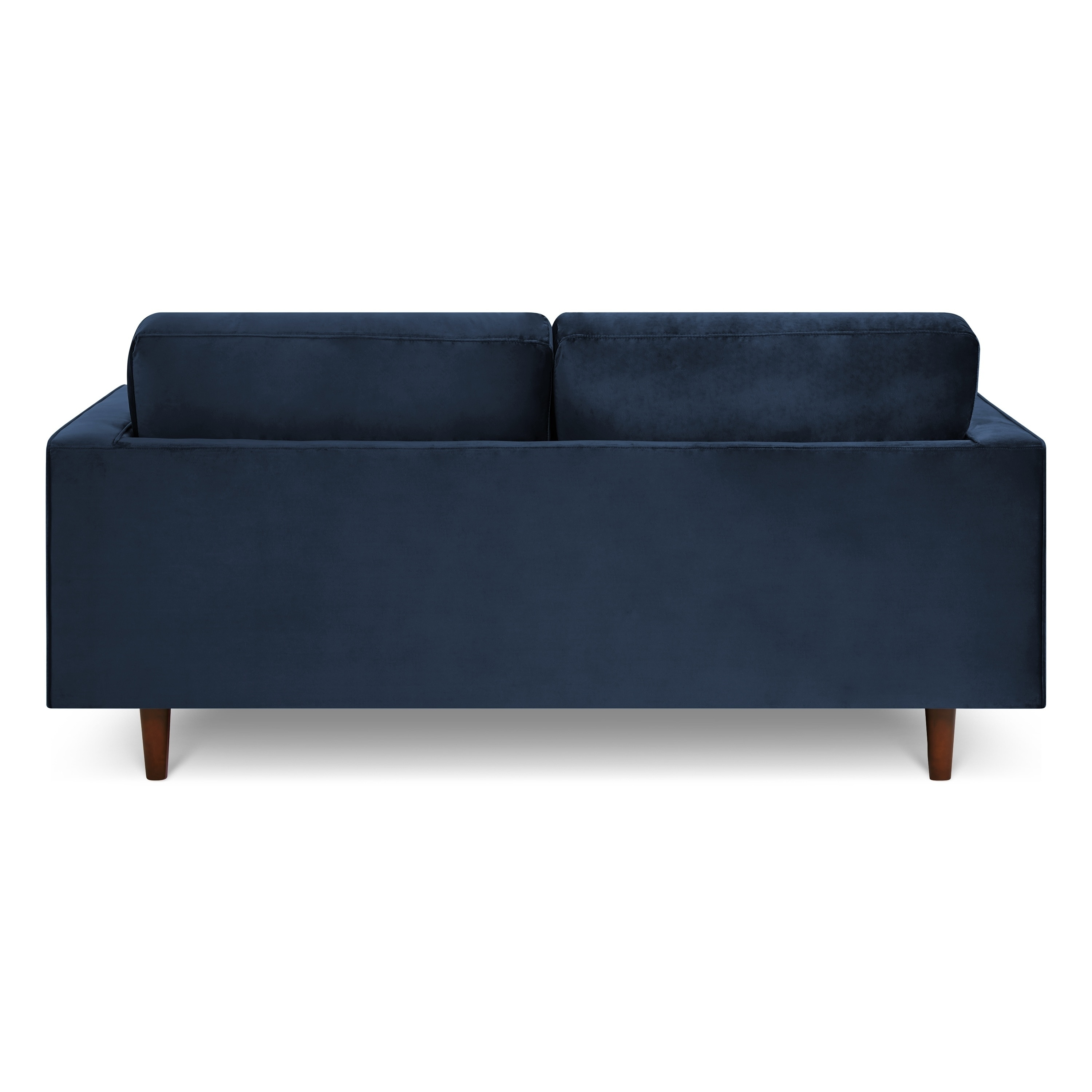 Poly and Bark Inga 72-inch Apartment Sofa with Velvet in Space Blue