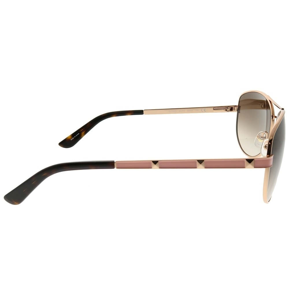 5c8e5a9394ced Shop Juicy Couture Aviator JU 554 S AU2 Women Rose Gold Frame Brown  Gradient Lens Sunglasses - Free Shipping Today - Overstock - 25618731
