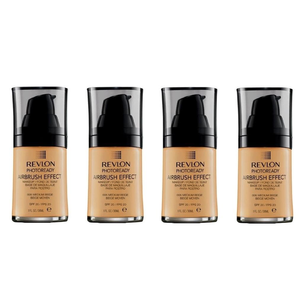 Shop Revlon Photoready Airbrush Effect Makeup Foundation Medium Beige #006 - Ships To Canada - Overstock - 25620538