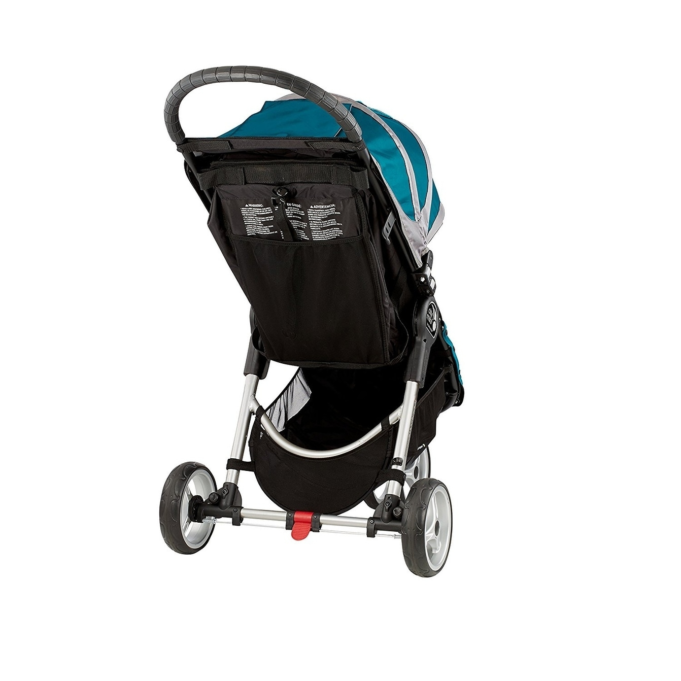 Baby Jogger City Mini 3 Wheel Single Stroller Teal Gray