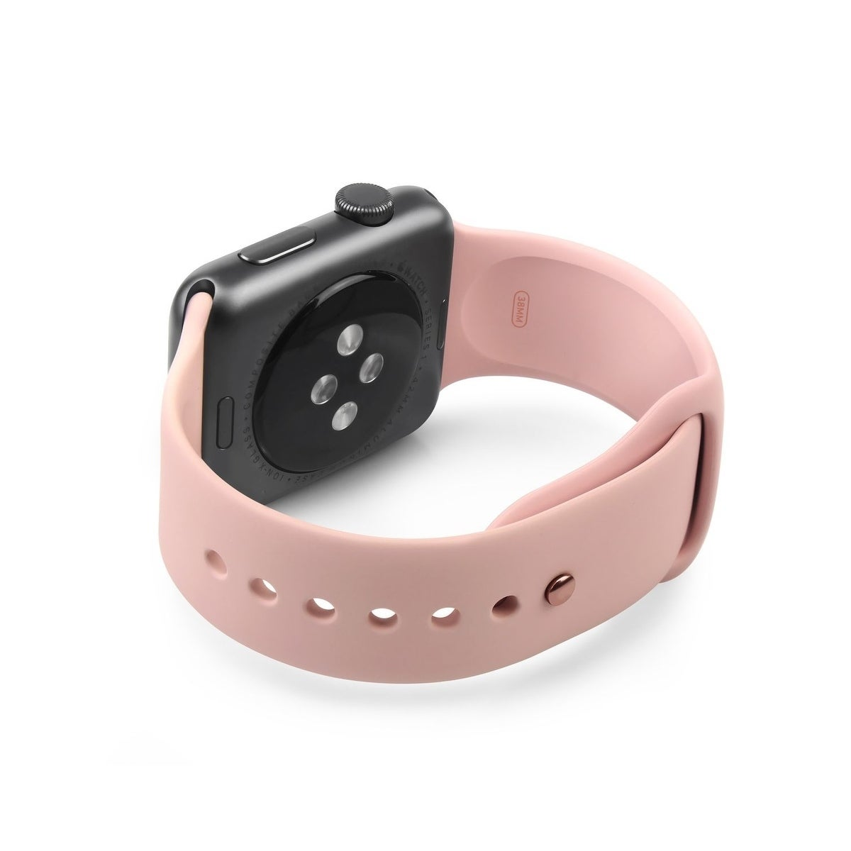 23dfdbbc99e20c Shop Apple Watch Band OEM Original Genuine Pink Sand Sport Band 38mm/40mm/42mm/44mm  for Apple Watch 1/2/3/4 (Bulk Packaging) - On Sale - Free Shipping On ...