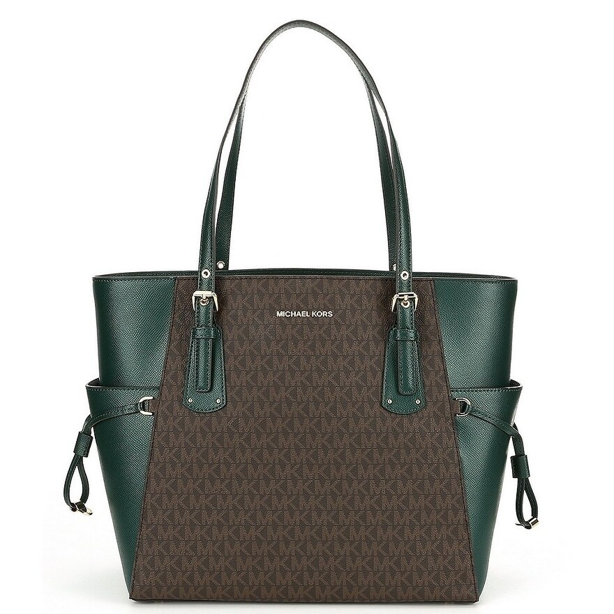 8a49ce2df28a51 Shop MICHAEL Michael Kors Voyager East West Tote -Green - Free ...