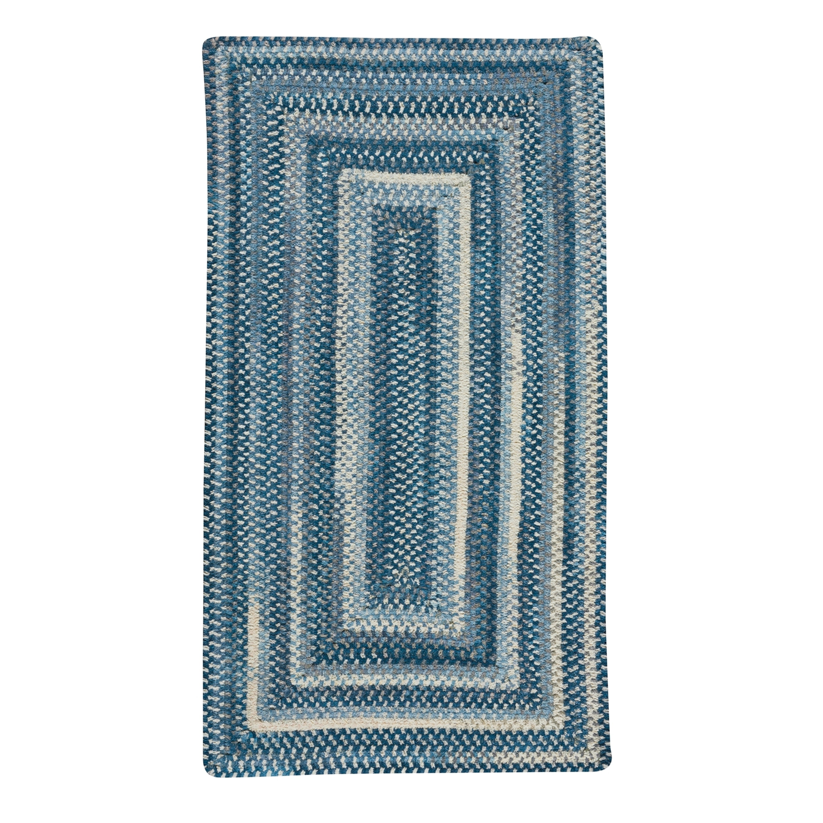 Braided Alliance Denim Cotton Area Rug