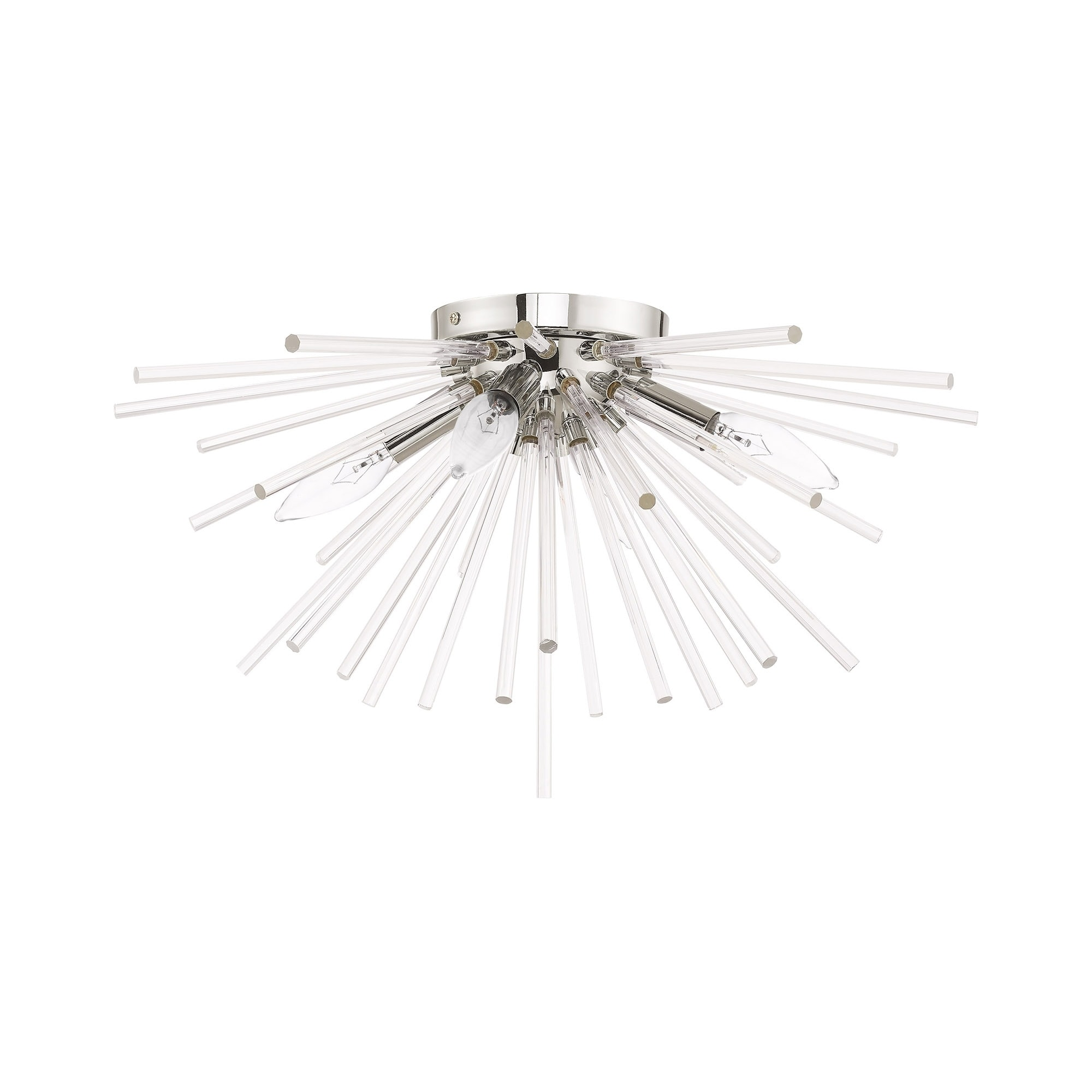 Livex lighting utopia 4 light starburst ceiling mount 20dia x 11h