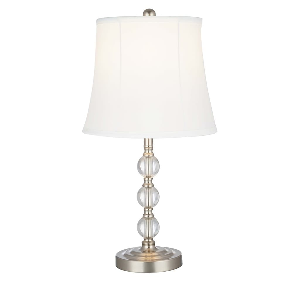 Shop Catalina Lighting Classic Stacked Ball Table Lamp 21 Brush