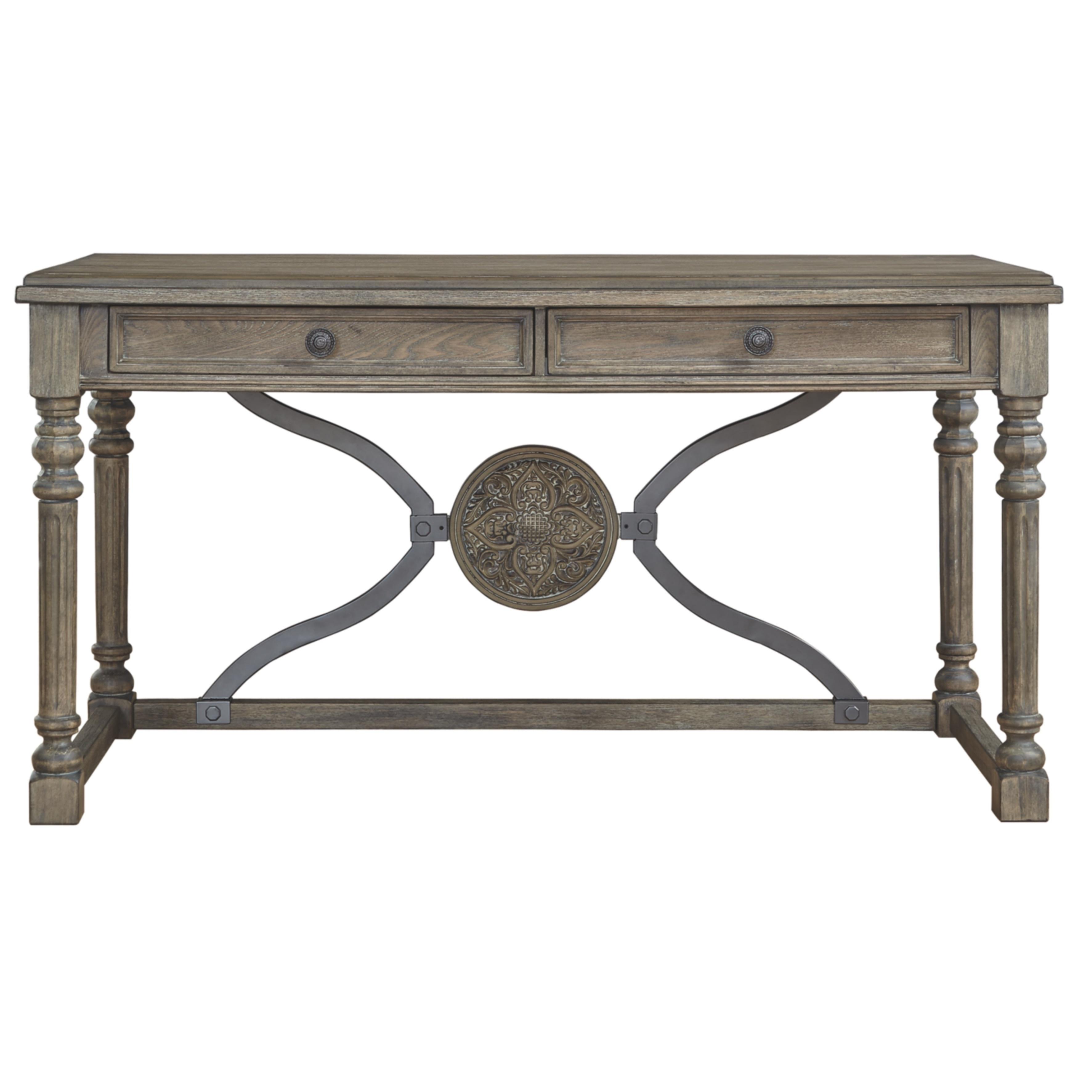 Shop Ashley Furniture Signature Design Malamae Light Brown Wood Home