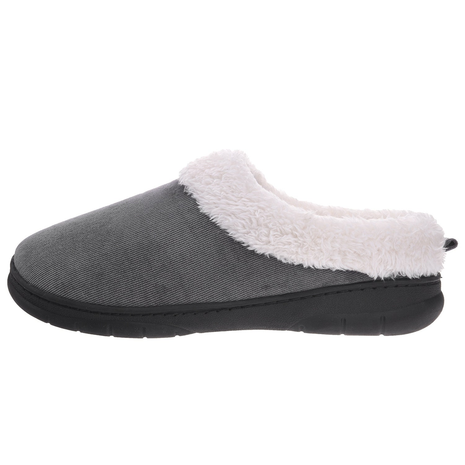 ef0ce46327fa Shop Men Memory Foam Faux Fur House Shoes - Fleece Plush Lining Slip on Clog  Slippers Indoor Outdoor - On Sale - Free Shipping On Orders Over  45 ...