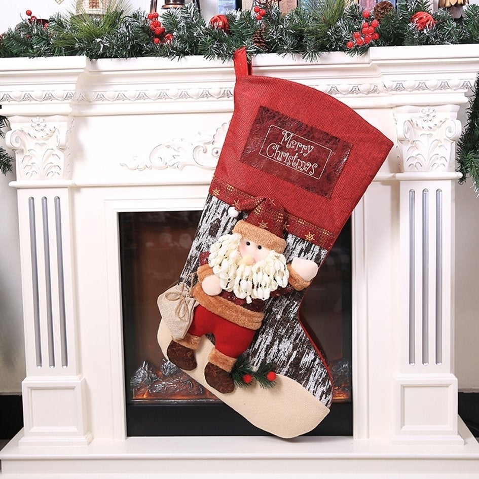 Shop Christmas Extra Large Christmas Stocking Halloween Ornaments - Free Shipping Today - Overstock - 25737420
