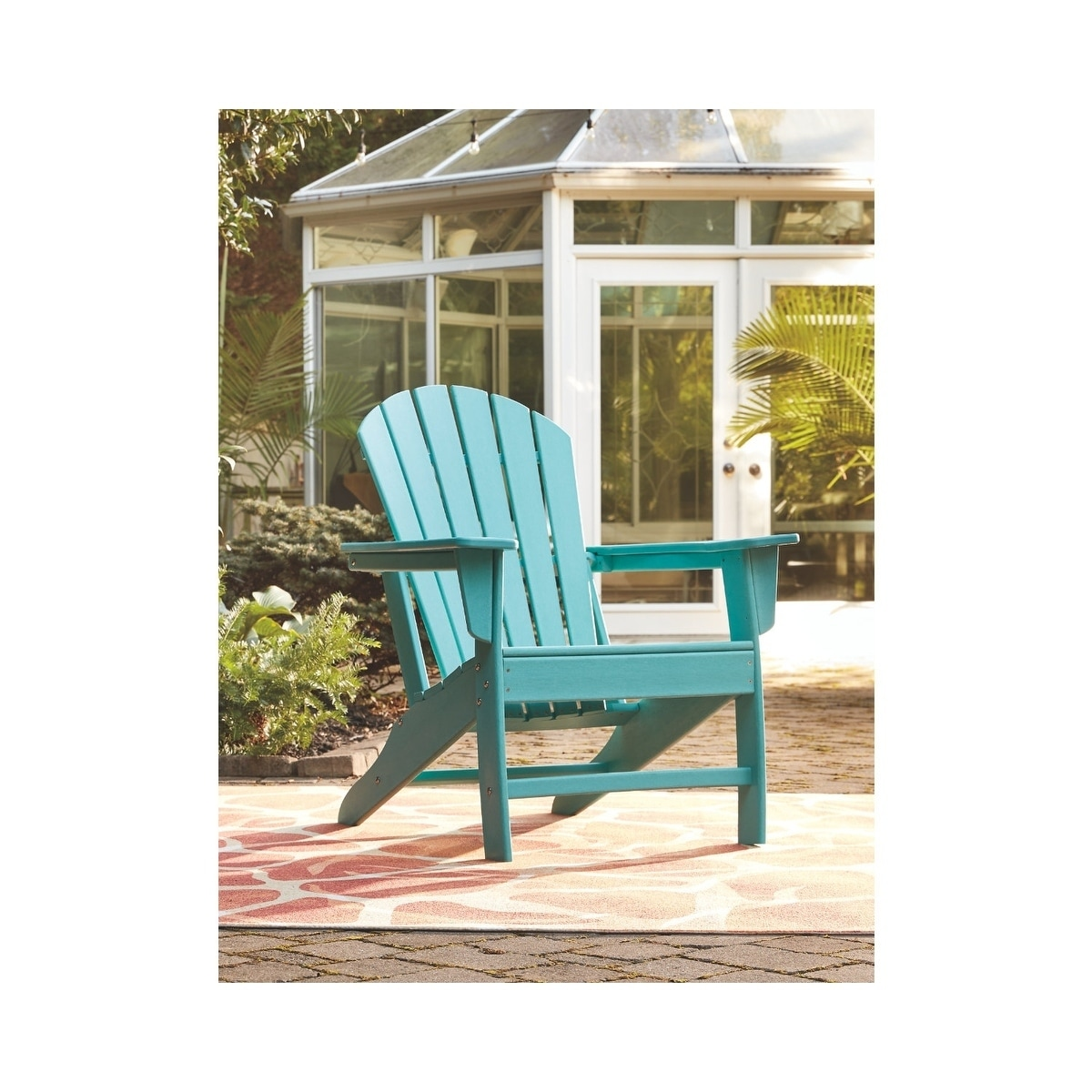 Shop Signature Design By Ashley Sundown Treasure Turquoise Outdoor