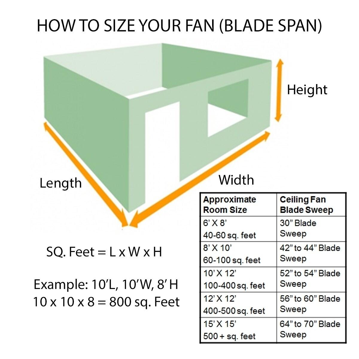 Shop Vortex 60 Inch Three Blade Indoor / Outdoor Smart Ceiling fan on