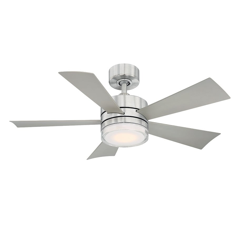 Shop Wynd 42 Inch Five Blade Indoor Outdoor Smart Ceiling Fan With