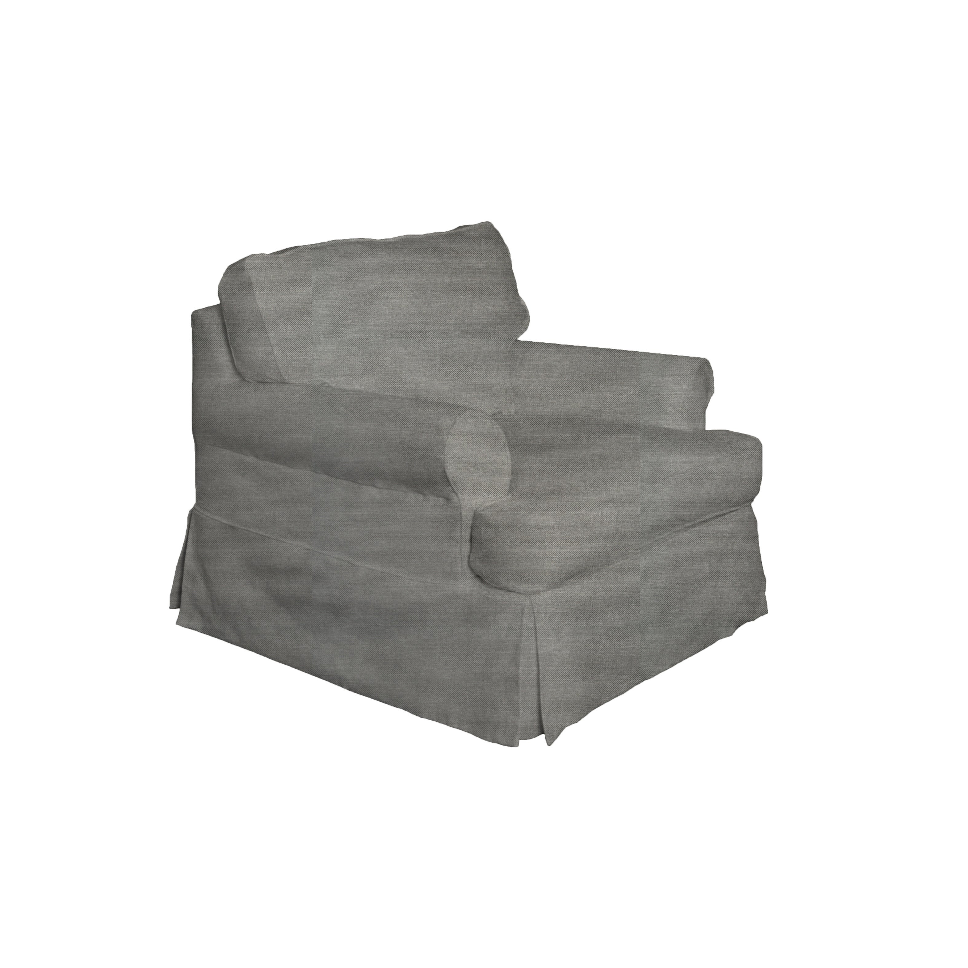 Shop sunset trading horizon t cushion chair slipcover free shipping today overstock com 25744553