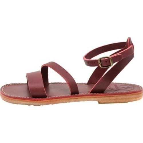602dace5c Shop Duckfeet Skaerbaek Strappy Sandal Granate Leather - Free Shipping Today  - Overstock - 21952470