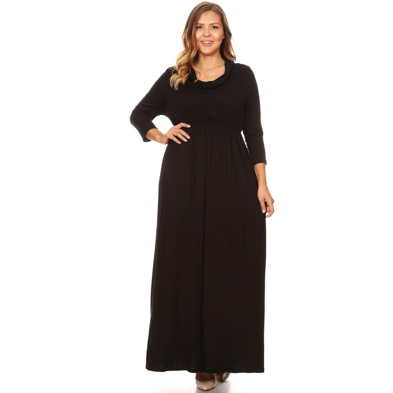 7ca895b39710 Modest Plus Size Maxi Dresses - raveitsafe
