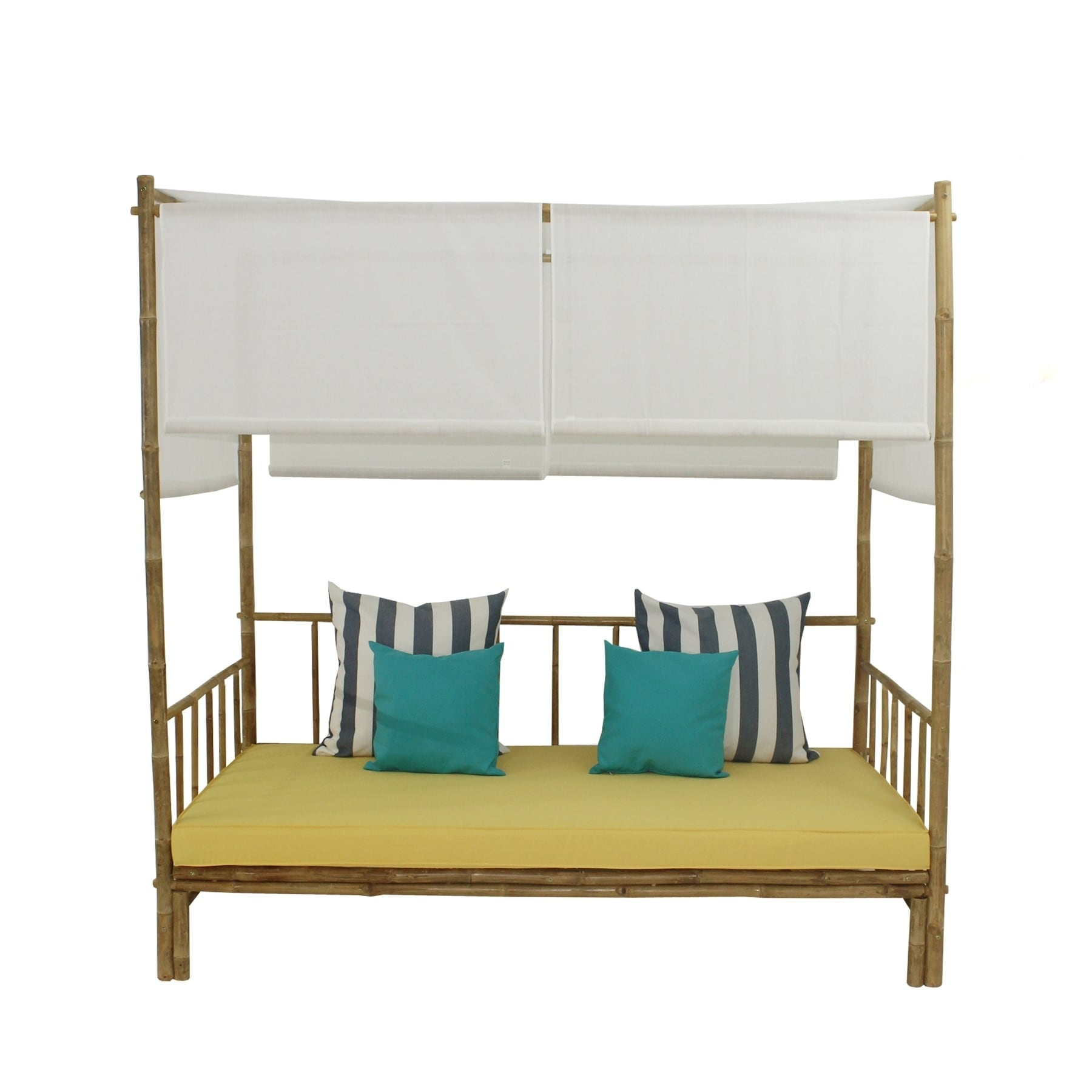 Bamboo Daybed With Canopy Free Shipping Today 25897258