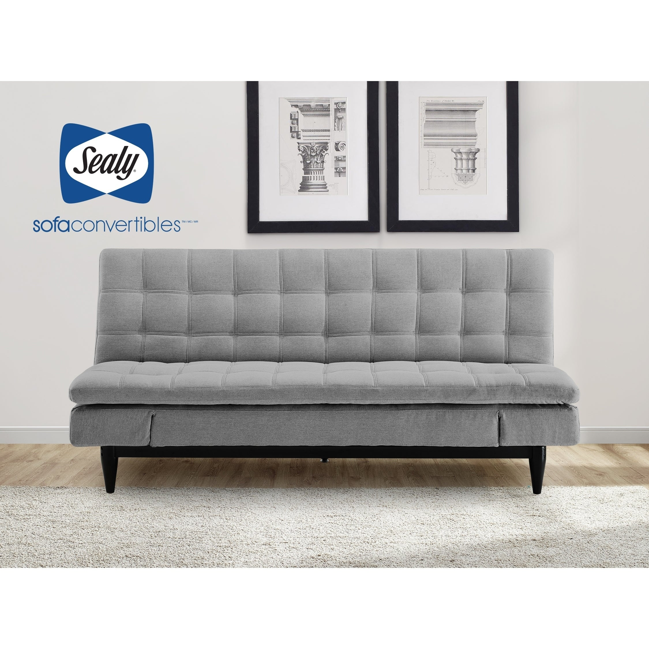 Shop montreal sofa convertible by sealy free shipping today overstock 25898461