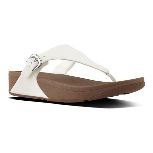 0cf7f568abe6 Women  x27 s FitFlop The Skinny Thong Sandal Urban White Urban White Leather