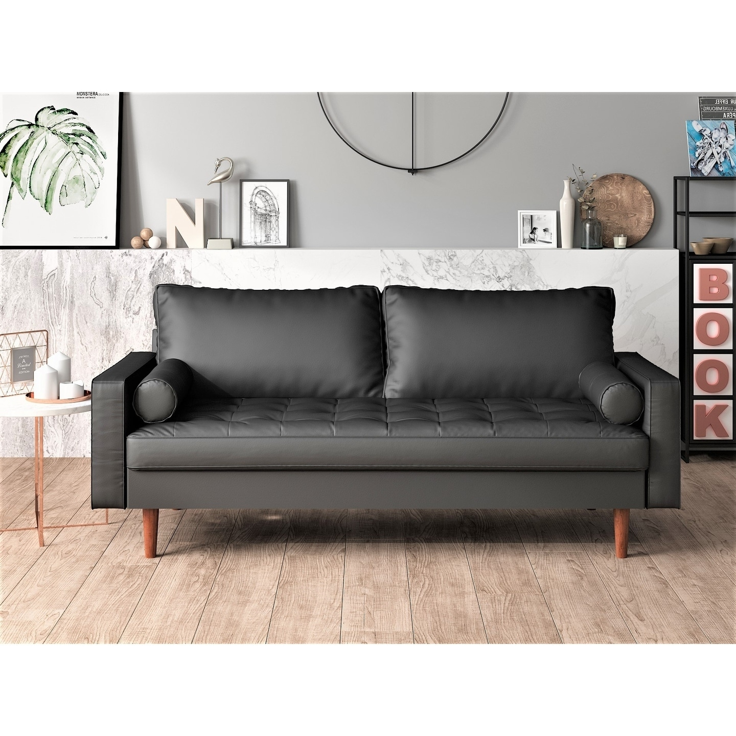 Shop US Pride Mid-century modern sofa - Free Shipping Today ...