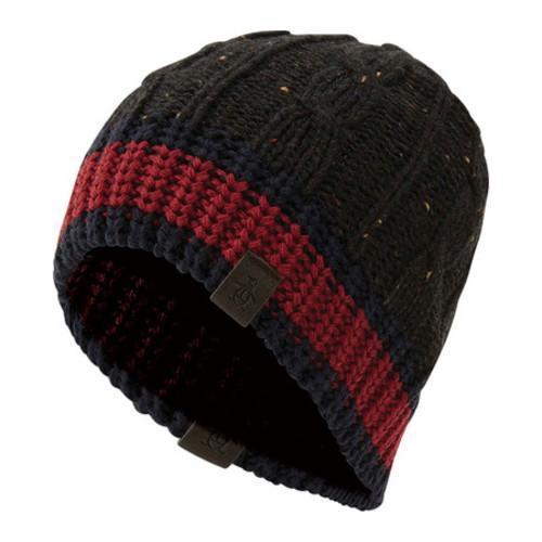 ... Thumbnail Men  x27 s Original Penguin Flecked Cable Knit Beanie Black dff807f8b15