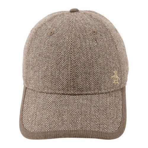 Shop Men s Original Penguin Herringbone Baseball Cap Brown - Free Shipping  On Orders Over  45 - Overstock.com - 22207285 741166d582d6