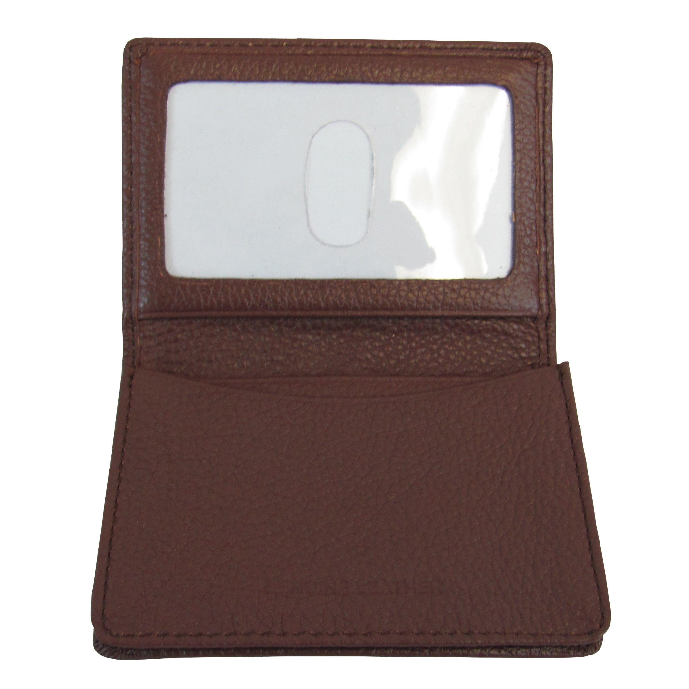 Shop Amerileather Leather ID and Business Card Holder - On Sale ...