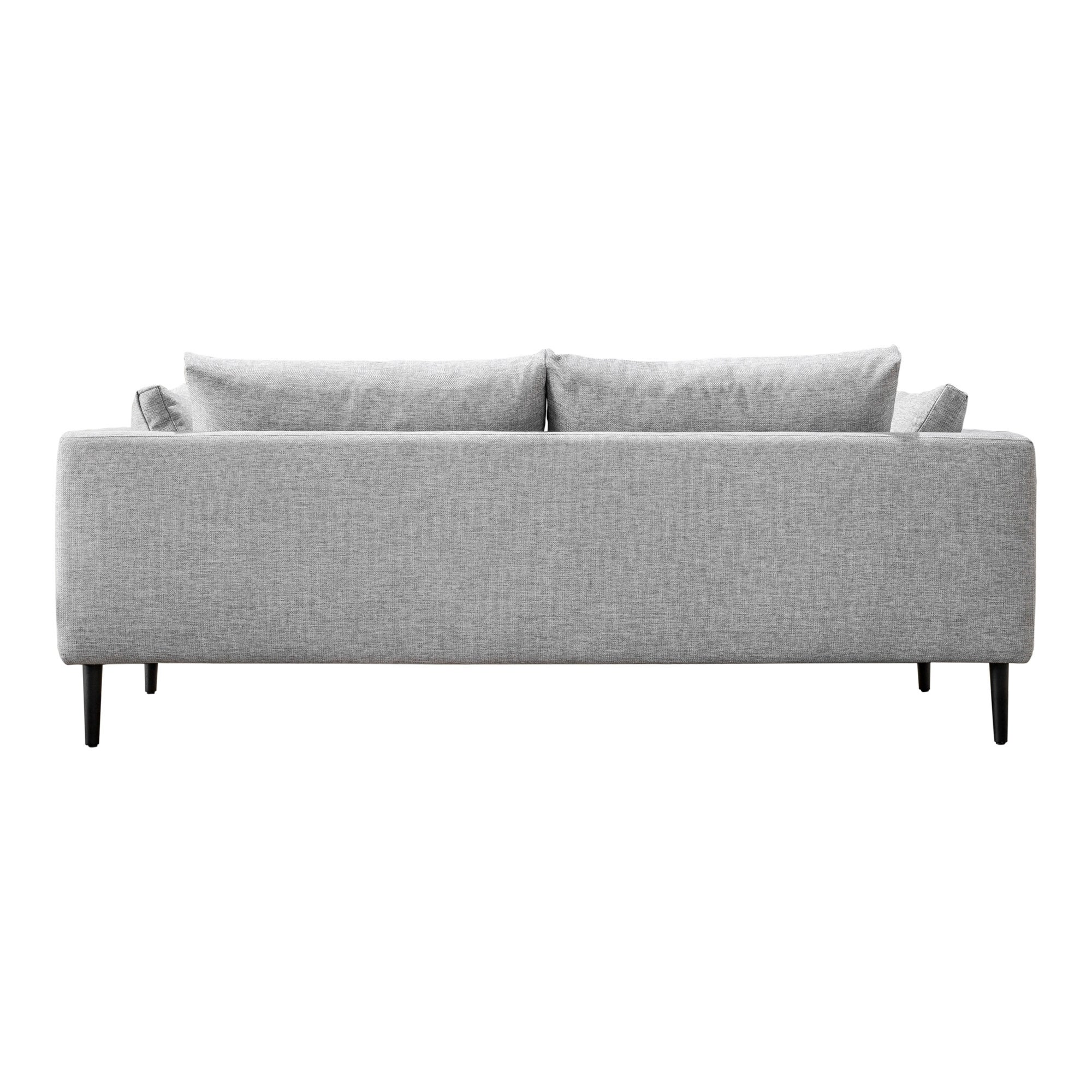 Aurelle Home Clean Line Contemporary Modern Sofa On Free Shipping Today 26041349