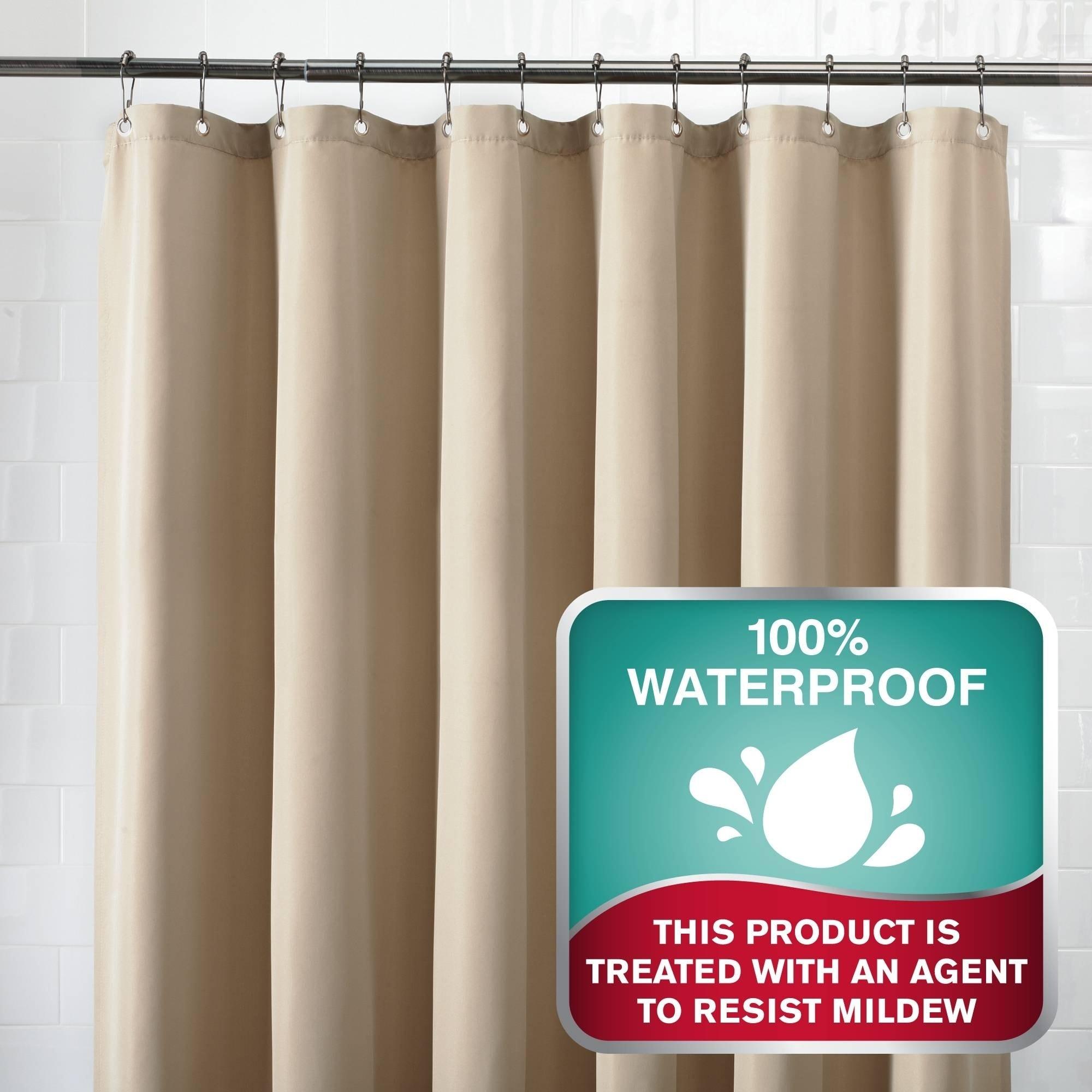 Shop Maytex Waterproof Fabric Shower Curtain Or Liner