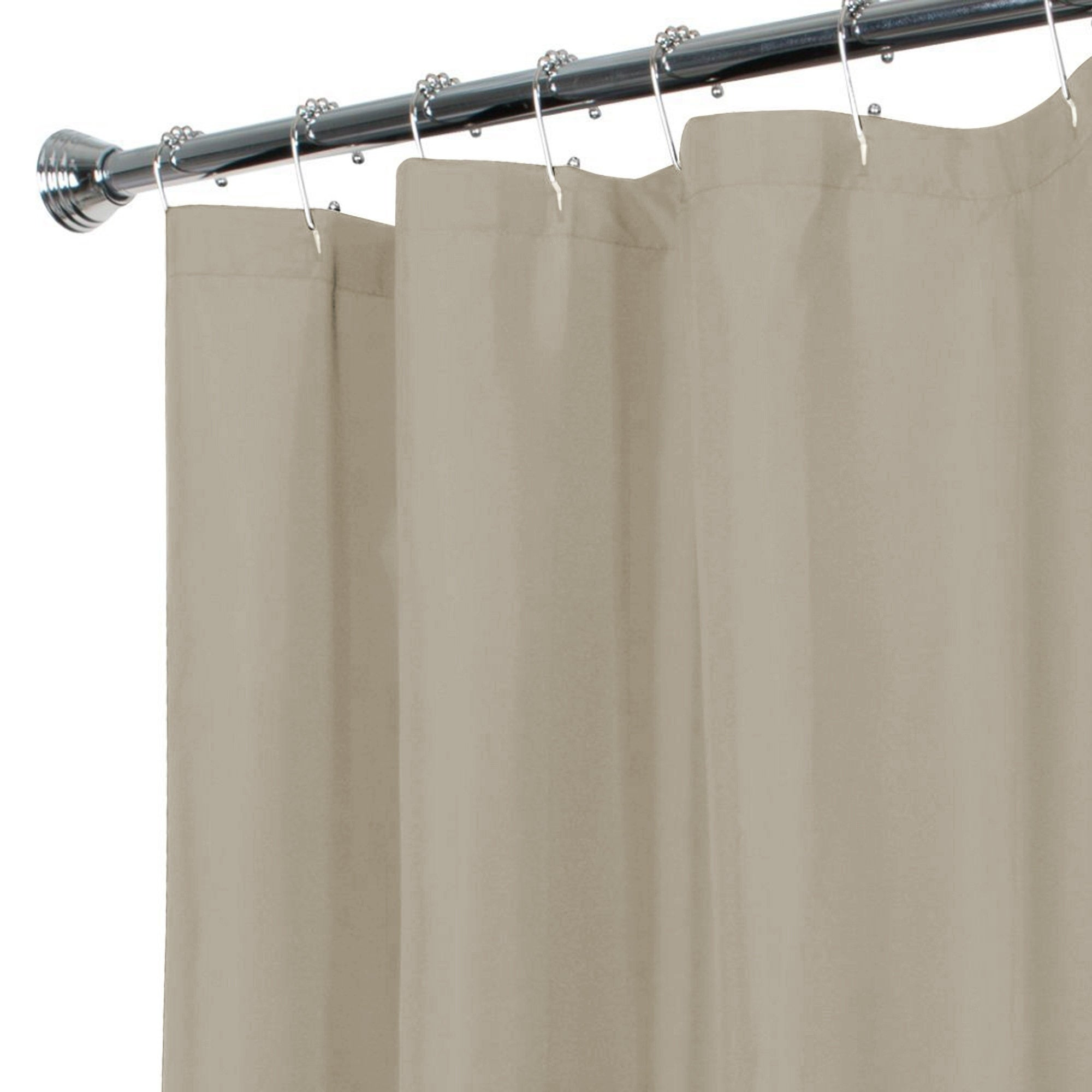Shop Maytex Water Repellent Fabric Shower Curtain Or Liner
