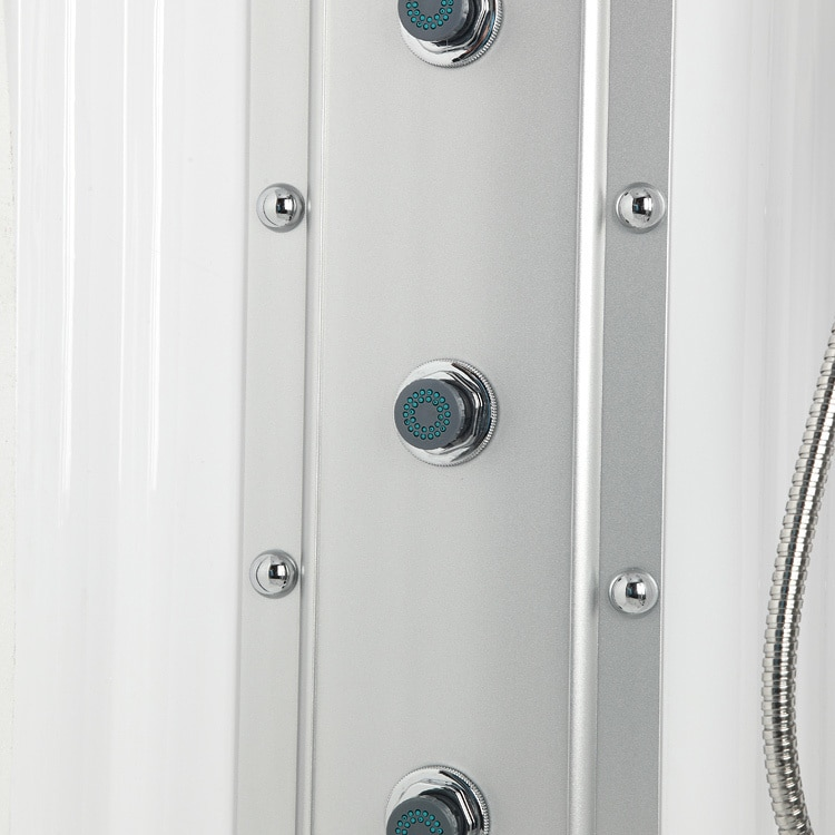 Shop 608 Steam Shower with Whirlpool Tub - Free Shipping Today ...