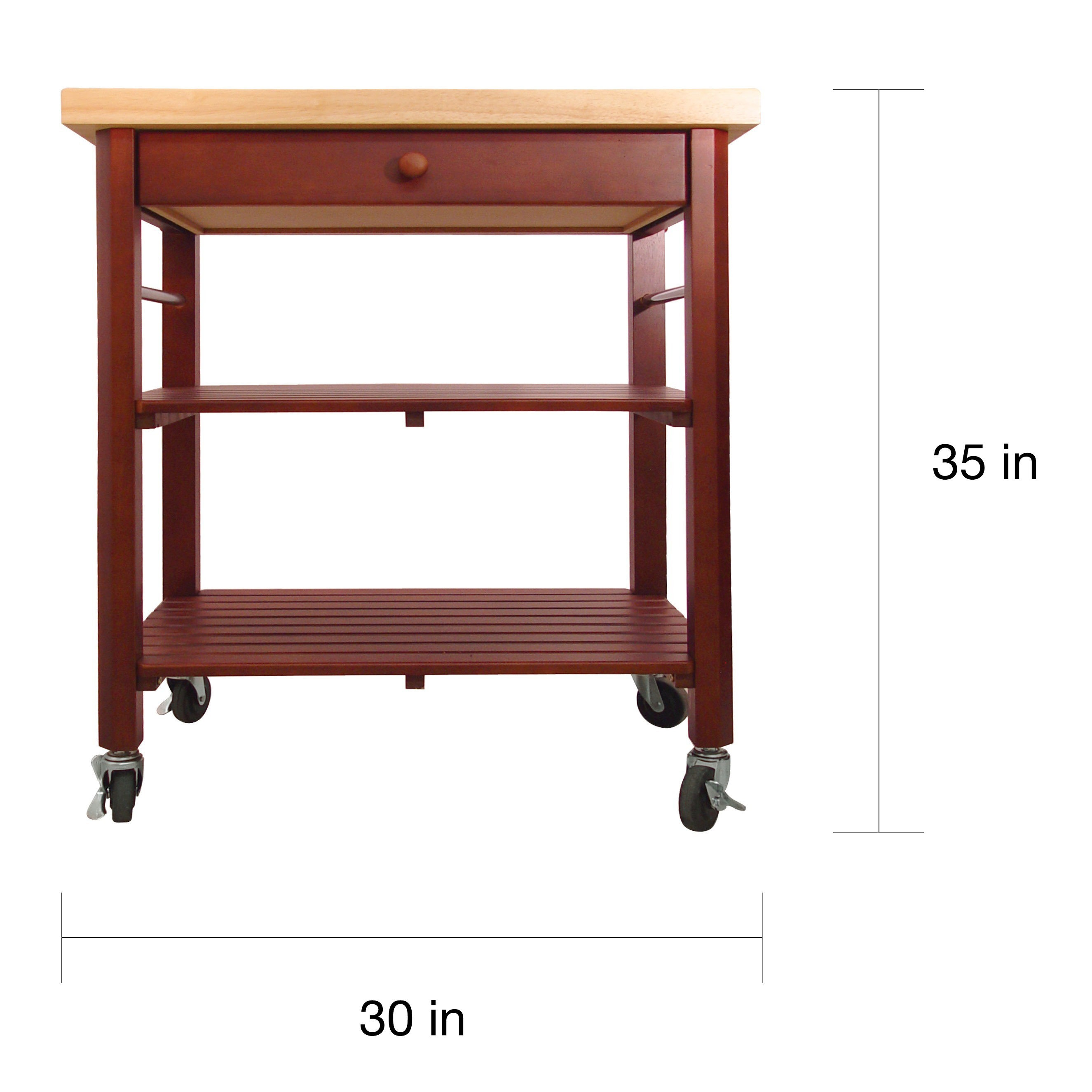 Roll About Kitchen Cart Free Shipping Today 10819333