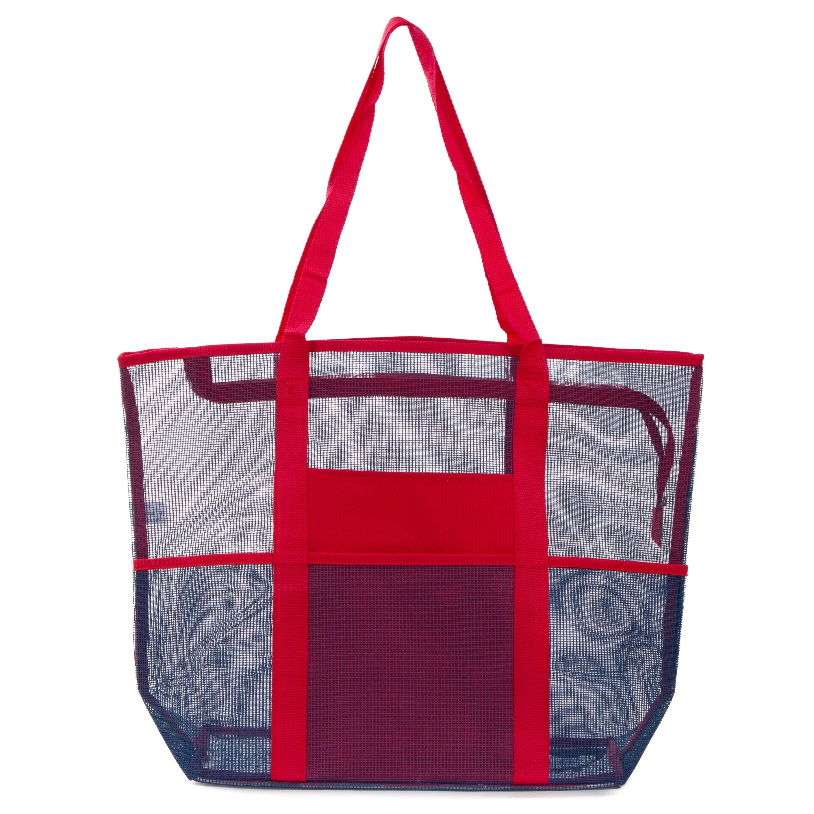 5074fddb7aa8 Large Mesh Beach Tote Bag