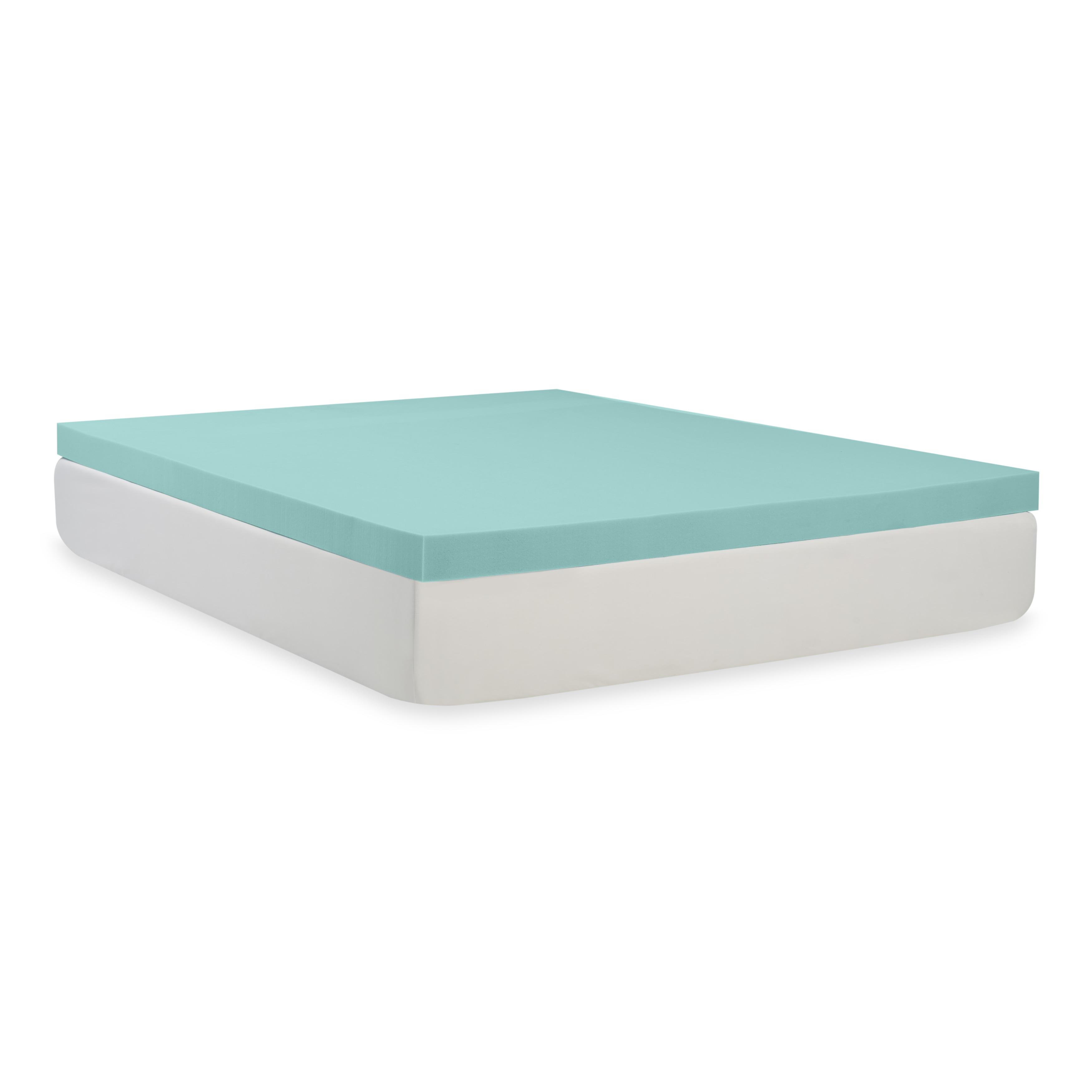 Shop Comfort Dreams Mem Cool 3 Inch Memory Foam Mattress Topper