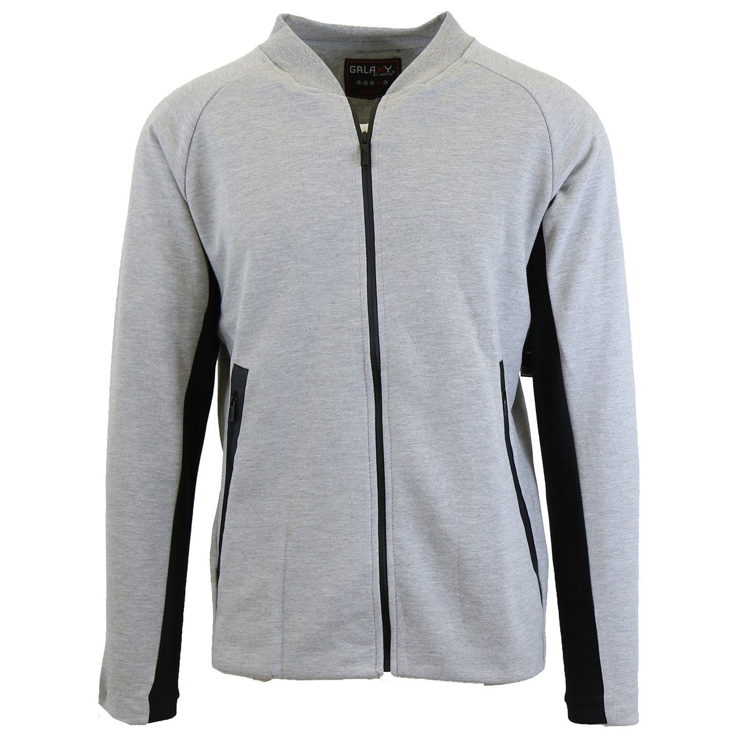 c95887c14f0c Shop Galaxy By Harvic Men s Moisture Wicking Active Tech Fleece Sweater  Jacket - On Sale - Free Shipping Today - Overstock - 26233186